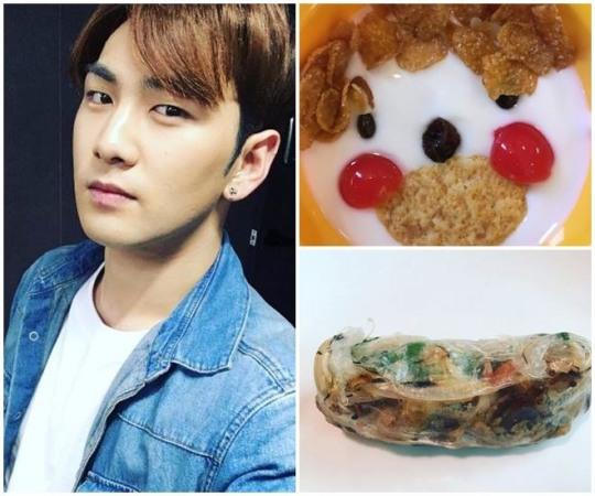 강동호의 먹스타그램, 독특한 음식 가치관 들여다보니…