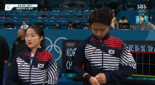 컬링, 중국에 7:8 아쉬운 패배… 연장전까지 가는 박빙 끝에 1점차로 승리 내줘