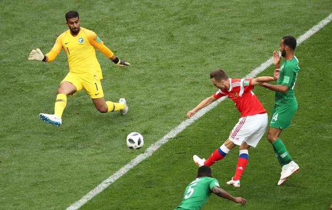 러시아 데니스 체리세프 `공을 향한 집념`