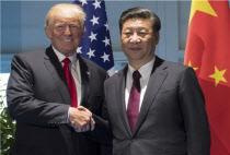 """시진핑, 트럼프에 """"대화·담판으로 한반도 위기 해결해야"""""""