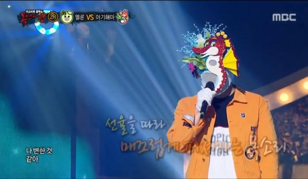 [TV컷Q] '복면가왕' 아기해마 케이윌 완벽일치 결국 싱겁게 정체 드러났다 '김조한 VS 케이윌 구도 되나'