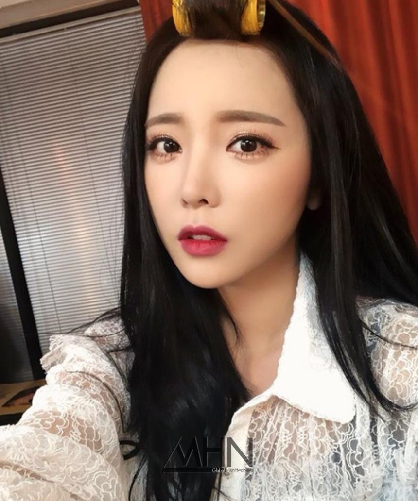 """인생술집 홍진영, 셀카 공개…""""곤피곤피 비오니깐 더 졸린 느낌"""""""