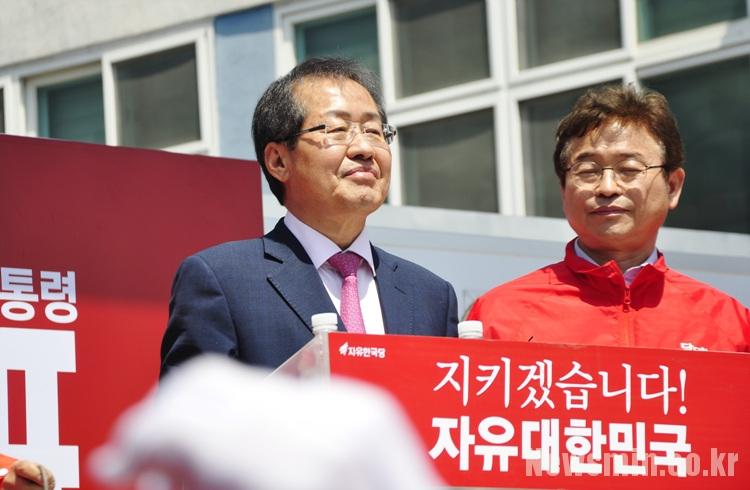 홍준표 서문시장 '갑질 유세' 논란, 대구 예술인들도 비난 성명