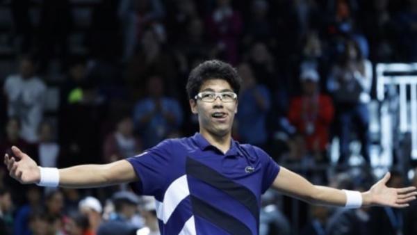 '테니스 왕자' 정현, 브리즈번 오픈 1회전 베테랑 완파
