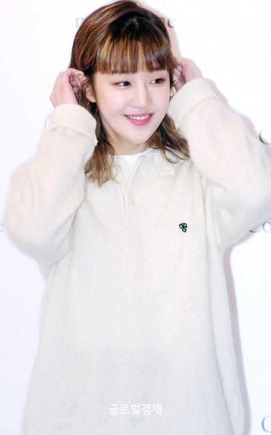[GET포토] 박보람, `소녀소녀한 머리 넘김~`