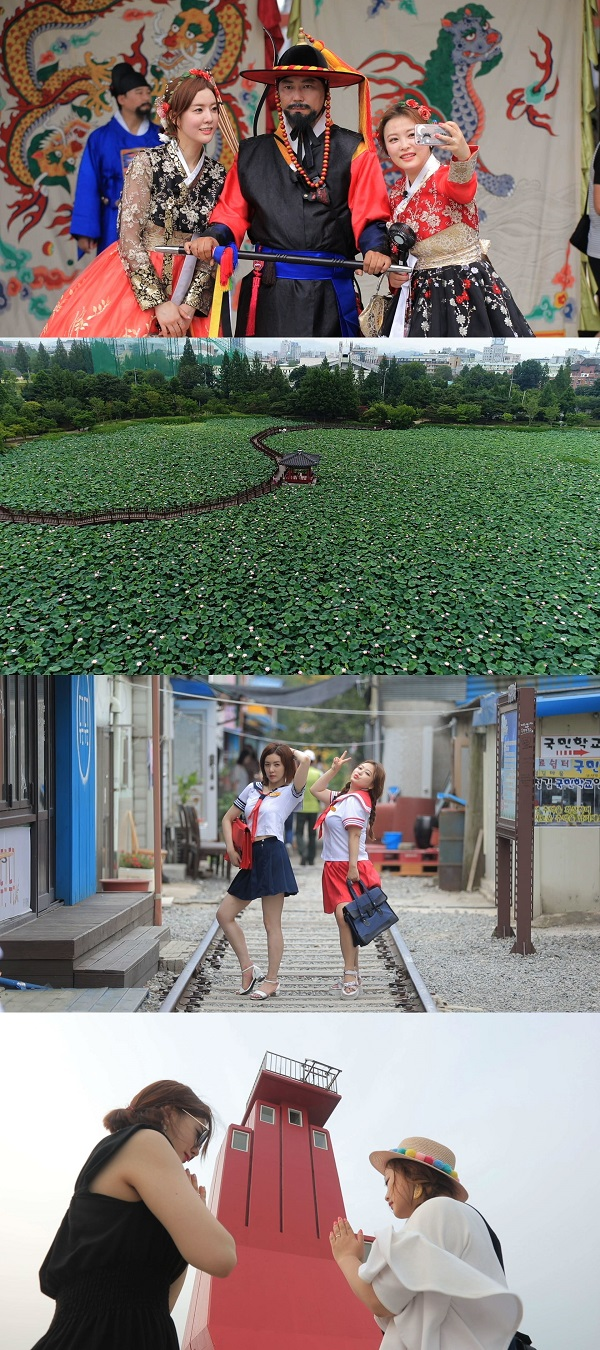`행복한 지도` 정지원 아나운서 X 심진화 개그우먼, 전주 한옥마을-청춘시장  경암동 철길 마을-선유도 여행