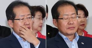 """'역대급 참패' 홍준표 """"내가 모든 책임 지겠다"""""""