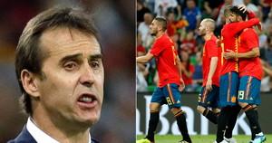 스페인 월드컵 1차전 이틀 앞두고 로페테기 감독 전격 경질