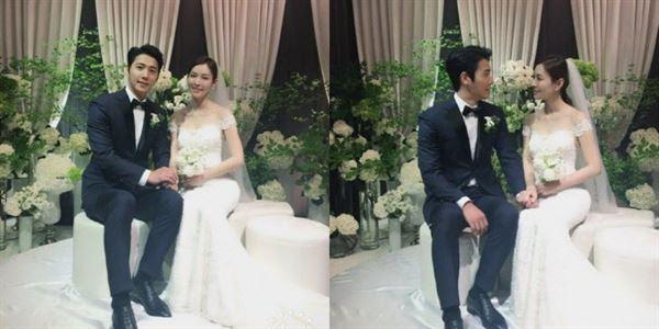 '미운 우리 새끼' 김소연, 남편 이상우와 찍은 결혼식 사진 '우아해'