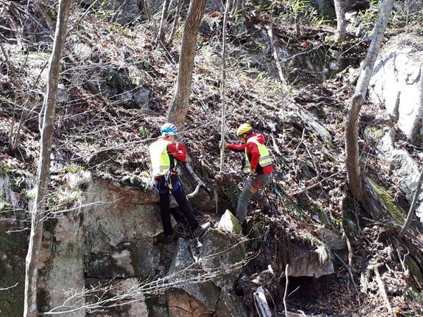 설악산·오대산·치악산국립공원 합동 '낙석제거'