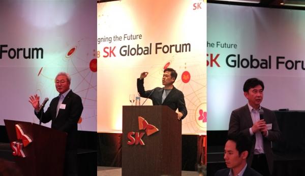 SK, 미국서 글로벌 핵심 인재 확보 위한 '2018 SK 글로벌 포럼' 개최