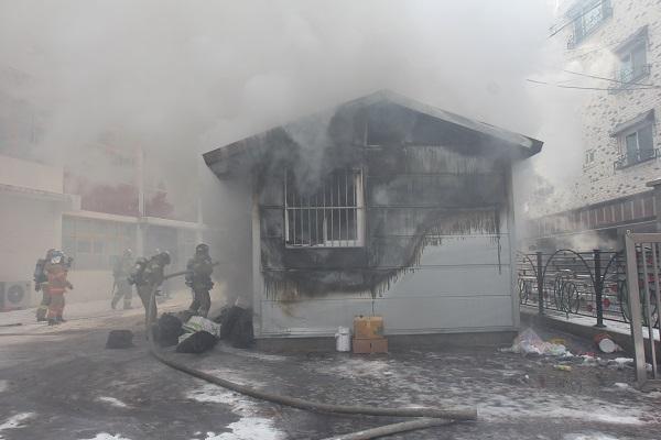 청주 초등학교 분리수거장서 불…`화재 원인은 역시나 담배꽁초`