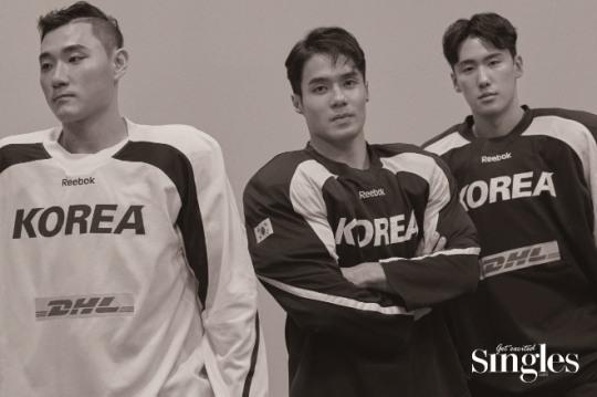 패션매거진 '싱글즈' 2018 평창 동계올림픽 출전 선수들의 색다른 화보 공개