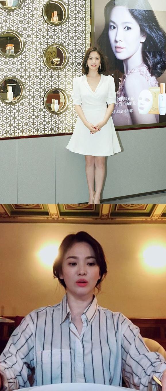 송혜교 '우아한' 공식석상'캐주얼' 일상 '매력 만점'…남편 송중기 근황은