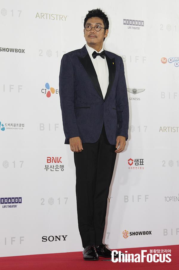 [BIFF] 부산국제영화제 참석한 조진웅, 연기도 다이어트도 `최고에요`