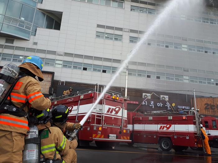'2018년 재난대응 안전한국훈련' 송도해수욕장 일원에서 실시