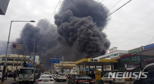 13일의 금요일 불안처럼 타오른 인천 화재 `검은 공포`, 인천 가좌동 이레화학공장 화재 충격파 반응은?