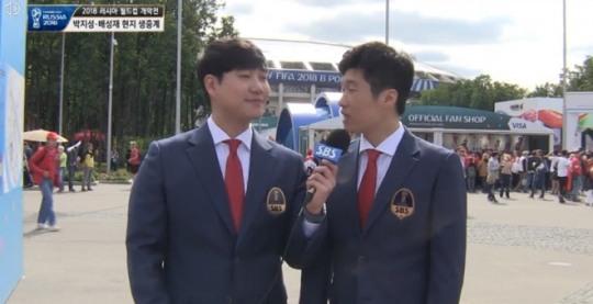 '월드컵 해설 데뷔' 박지성, 해설 고민한 이유…러시아라서?