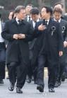 YS추도식에 간 文대통령…'국민통합' 앞세워 중도보수 포용