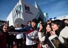 KT, 설 연휴 홍보관서 이벤트…루지 국가대표와 사진촬영
