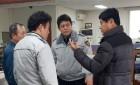 부하 직원 향한 흉기 공격…몸 던져 막아낸 경찰 지구대장