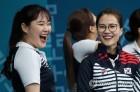 [올림픽] 여자 컬링, 웃음 활짝