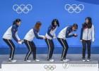 [올림픽] 한국 쇼트트랙 금메달 3개로 마무리…'절반의 성공'