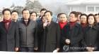 북한 김영철 방남반대, 발언하는 김성태 원내대표
