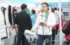[올림픽] 폐막 D-1 북적이는 기념품 판매점