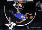 NBA 골든스테이트, 듀랜트 26득점 앞세워 PO 3연승