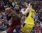 NBA 클리블랜드 반격…인디애나 꺾고 2승 2패 동률