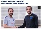 손흥민 동료 케인, 월드컵 잉글랜드 대표팀 주장 선임