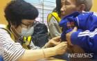 베트남 의료봉사 하는 이옥재 단장