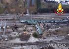 [3보]이탈리아 밀라노 열차 탈선사고…3명 사망·10명 중상