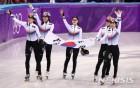 쇼트트랙 여자 계주 금메달…시청률도 금메달 50% 육박