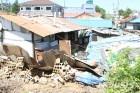 강한 태풍에도 꿈쩍않던 마을 하천 범람에 62가구 침수