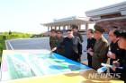 북한 김정은, 원산 갈마 해안관광지구 건설현장 시찰