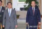 대법관후보추천위원회 참석하는 김명수-박경서
