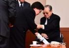 김종필 전 총리 별세, 생전 JP 위로하는 이희호 여사