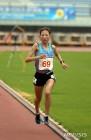 안슬기, 한국 여자 10000m 신기록 수립