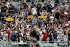만루 역전 홈런이 환호하는 LG 팬들