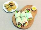 가래떡롤·잡채호떡… 설에 남은 음식, 이색요리로 변신