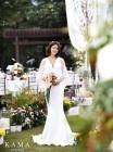 이시영♥조승현, 결혼식 사진 공개… 아름다운 가을의 신부