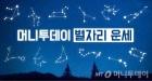11월 20일(월) 미리보는 내일의 별자리운세