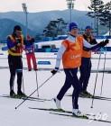 文대통령 트래킹, 유럽은 스키..평창의 정상들 스포츠 사랑