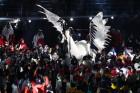 개막식에 이어 폐막식에도 등장한 '올림픽 스타' 인면조