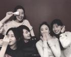 """""""김혜수부터 김민정까지""""…송윤아, '식사하셨어요' 멤버들과 행복한 한때"""