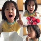 """""""체리에 퐁당""""…기태영♥유진 딸 로희, 몰라보게 자랐네"""