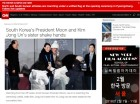 [평창올림픽 개회식 이모저모]외신들 문재인-김여정 대면에 큰 관심 외