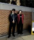 '봉제선' 다이나믹 듀오 근황, 담벼락 앞에서 모델 포즈 '스웩'